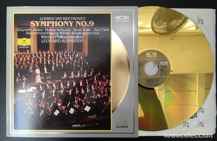 BEETHOVEN SYMPHONY 9 BERNSTEIN VPO UK 12 PULGADAS CD-VIDEO DEUTSCHE GRAMMOPHON 072 108-1 (Música - Varios)