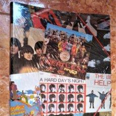 Música de colección: CARPETA ESCOLAR AÑOS 80 90 BEATLES ESTA NUEVA PLASTIFICADA DE ANTIGUO ALMACEN. Lote 194938911