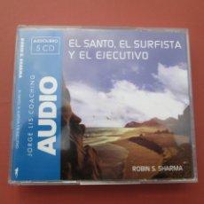 Musique de collection: JORGE LUIS COACHING , EL SANTO ,EL SURFISTA Y EL EJECUTIVO AUDIOLIBRO 5 CD,S. Lote 197769085
