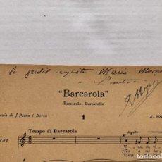 Música de colección: ENRIC NOGUÉS - CANÇONS CON DEDICATORIA Y FIRMA MANUSCRITA DEL AUTOR. Lote 197958915