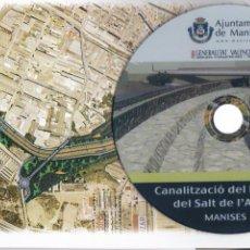 Música de colección: DVD : CANALIZACIÓN DEL BARRANCO DE SALT DE L´AIGUA * MANISES * RÍO TURIA *. Lote 198376081