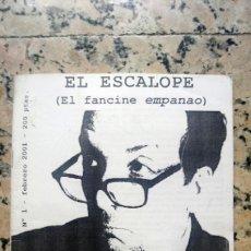 Música de colección: EL ESCALOPE ( EL FANCINE EMPANAO) 2001. FANZINE. Lote 198833235
