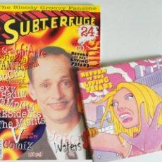 Música de colección: SUBTERFUGE Nº 24 FANZINE + CD RETURN OF THE LIVING FREAKS / ESPEZIAL FANTATERROR, JOHN WATERS, ETC.. Lote 199742875