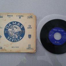 Música de colección: CASA DAMAS (SEVILLA) CON SIGLE LONE STAR. MI CALLE/THINKIN' OF YOU. Lote 201101317