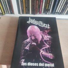 Musica di collezione: LIBRO DE JUDAS PRIEST LOS DIOSES DEL MWTAL. Lote 201363820
