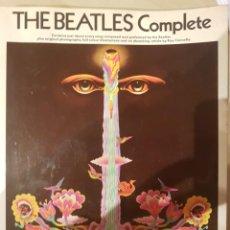 Música de colección: THE BEATLES COMPLETE - TODAS SUS PARTITURAS. Lote 202450288