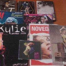 Música de colección: KYLIE MINOGUE LOTE MATERIAL VARIADO 6 ARTÍCULOS. Lote 201191330