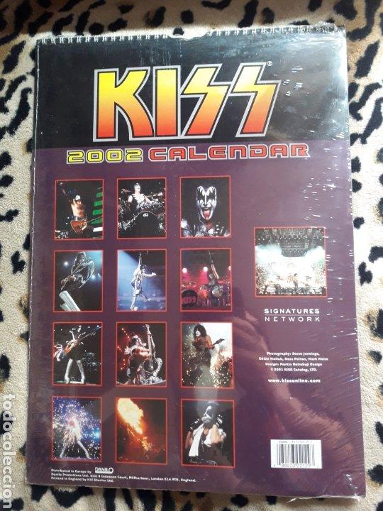 Música de colección: KISS Calendario 2002 (Danilo) precintado - Foto 2 - 202843572