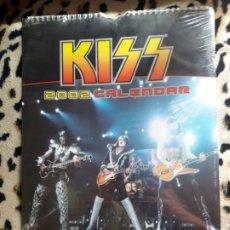 Música de colección: KISS CALENDARIO 2002 (DANILO) PRECINTADO. Lote 202843572