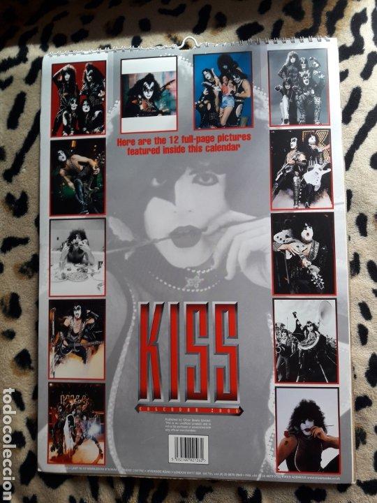 Música de colección: KISS Calendario 2000 (Oliver Books) - Foto 2 - 202844446