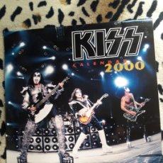 Música de colección: KISS CALENDARIO 2000 (SIGNATURES SUPERSTARS). Lote 202844727
