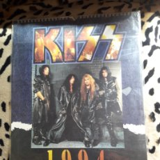 Música de colección: KISS CALENDARIO 1994 (DANILO). Lote 202844966