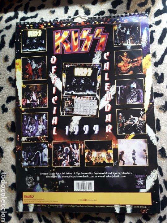 Música de colección: KISS calendario 1999 (Danilo) - Foto 2 - 202845511