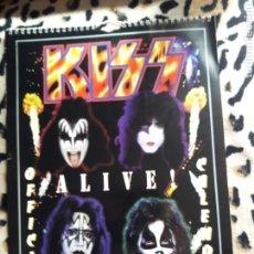 Música de colección: KISS CALENDARIO 1999 (DANILO). Lote 202845511