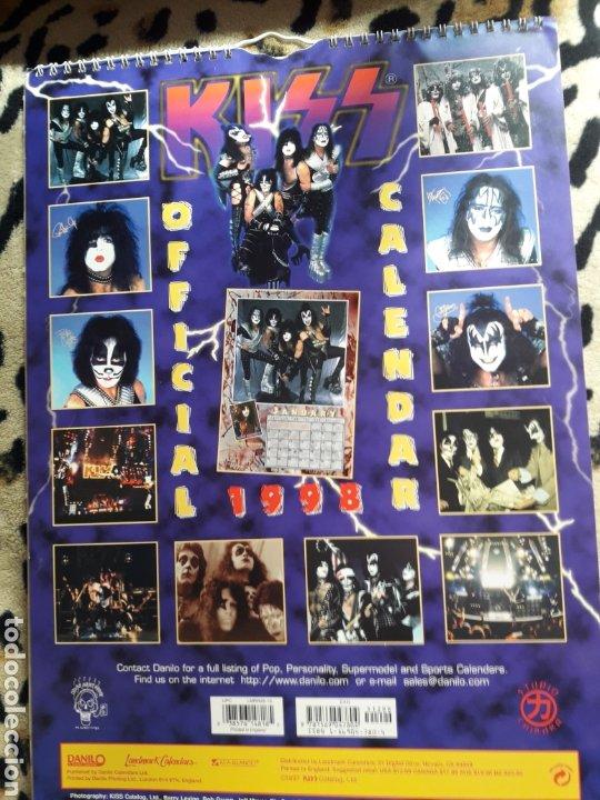 Música de colección: KISS Calendario 1998 (Danilo) - Foto 2 - 202845703