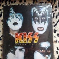 Música de colección: KISS CALENDARIO 2001 (OLIVER BOOKS). Lote 202846466