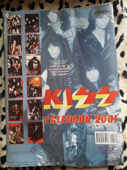 Música de colección: KISS Calendario 2001 (Dream Story) - Foto 2 - 202846755