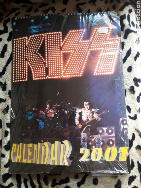KISS CALENDARIO 2001 (DREAM STORY) (Música - Varios)