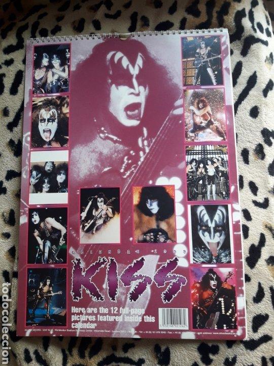 Música de colección: KISS Calendario 1999 (Oliver Books) - Foto 2 - 202847267