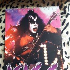 Música de colección: KISS CALENDARIO 1999 (OLIVER BOOKS). Lote 202847267