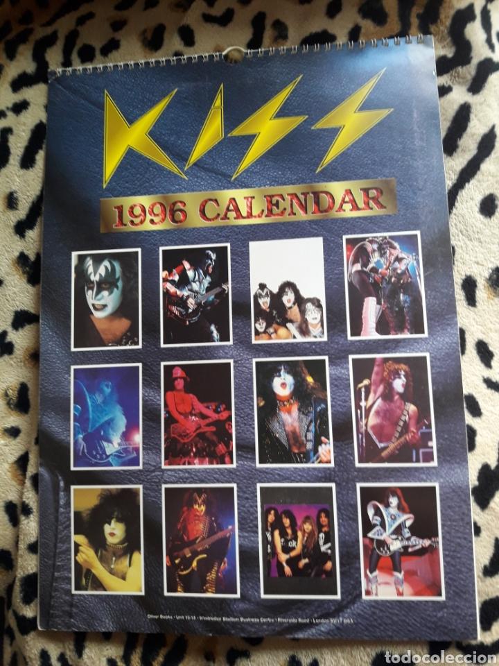 Música de colección: KISS calendario 1996 (Oliver Books) - Foto 2 - 202847667