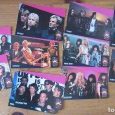 Música de colección: SUPER STARS MUSICCARDS PRO SET - COLECCION DE TRADING CARD - SERIE II. Lote 203177270