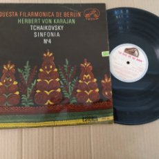 Música de colección: RML REF:R400R DISCO VINILO GRANDE - ORQUESTA FILARMÓNICA DE BERLÍN - TCHAIKOVSKY - SINFONÍA N°4. Lote 205719321