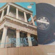 Música de colección: RML REF:R400R DISCO VINILO GRANDE - ORQUESTA FILARMÓNICA DE VIENA: KHACHATURIAN - SPARTACVS GAYANEH. Lote 205719980