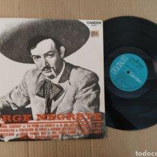 Música de colección: RML REF:R400R DISCO VINILO GRANDE - JORGE NEGRETE. Lote 205721140