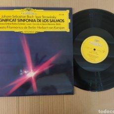 Música de colección: RML REF:R400R DISCO VINILO GRANDE - ORQUESTA FILARMÓNICA DE BERLÍN -MAGNÍFICA SINFONÍA DE LOS SALMOS. Lote 205721578