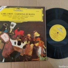 Música de colección: RML REF:R400R DISCO VINILO GRANDE - CARL ORFF - CARMINA BURANA. Lote 205723287