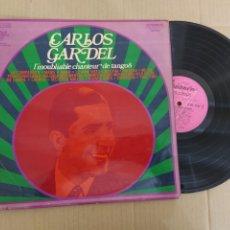 Musique de collection: RML REF:R400R DISCO VINILO GRANDE - CARLOS GARDEL. Lote 205749137