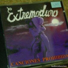 Música de colección: CANCIONES PROHIBIDAS - EXTREMODURO - CD SEGUNDA MANO. Lote 205889938