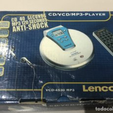 Música de colección: REPRODUCTOR CD VCD MP3. Lote 206360971