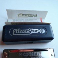 Música de colección: ARMÓNICA HOHNER SILVER STAR. Lote 206385790