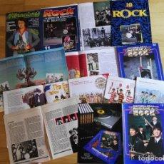 Música de colección: LOTE DE FASCICULOS SÓLO CONTIENEN REPORTAJES DE LOS BEATLES. Lote 206447572
