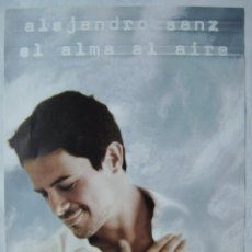 Música de colección: ALEJANDRO SANZ. POSTER. 48 X 68 CMS... Lote 207162030