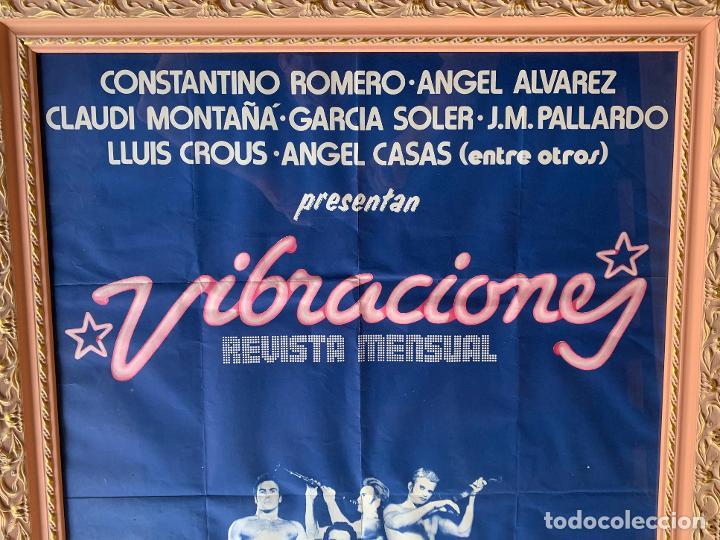 Música de colección: VIBRACIONES POSTER PROMOCIONAL . ANGEL CASAS . ANGEL ALVAREZ . ROMERO . MONTAÑA . SOLER . PALLARDO - Foto 5 - 207217467
