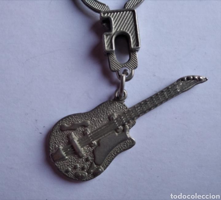 Música de colección: Llavero antiguo guitarra electrica musica - Foto 2 - 207241856