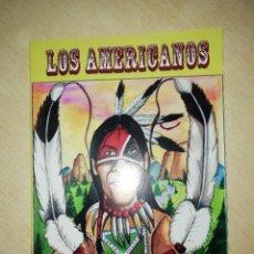 Musique de collection: CARNAVAL DE CÁDIZ LIBRETO COMPARSA LOS AMERICANOS DE JUAN CARLOS ARAGON. Lote 207266661