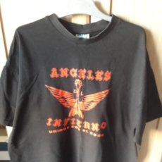 Musique de collection: HEAVY METAL SPANISH CAMISETA ANGELES DEL INFIERNO TALLA L. Lote 207852337