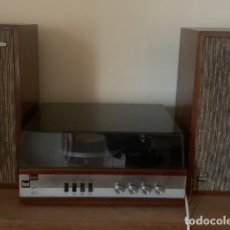 Música de colección: TOCADISCOS + DOS BUFFLES (BETTOR DUAL). Lote 207984550