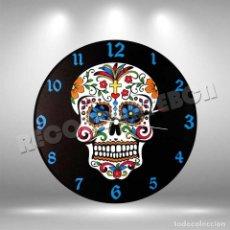 Música de colección: RELOJ DE DISCO LP DE CALAVERA MEXICANA 1. Lote 253563175