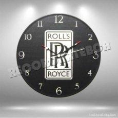 Música de colección: RELOJ DE DISCO DE ROLLS ROYCE. Lote 244427355
