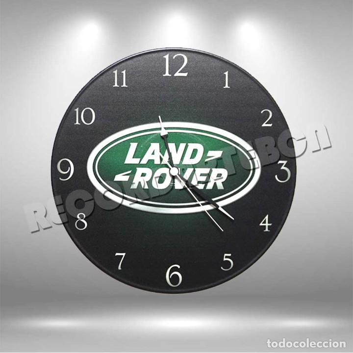 RELOJ DE DISCO DE LAND ROVER (Música - Varios)