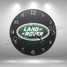 Música de colección: RELOJ DE DISCO DE LAND ROVER. Lote 208699306