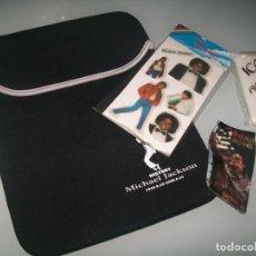 Musique de collection: MICHAEL JACKSON - LOTE DE FUNDA PARA TABLET REVERSIBLE - PRODUCTO OFICIAL, STIKERS,Y FUNDAS MOBIL.. Lote 209979791