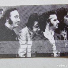 Musica di collezione: CARNET DE SOCIO SGT. BEATLES FAN CLUB ESPAÑA FOTO SESIONES MAD DAY OUT. Lote 210279137