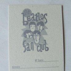 Musique de collection: CARNET DE SOCIO SGT. BEATLES FAN CLUB ESPAÑA COLOR PLATEADO. Lote 210280591