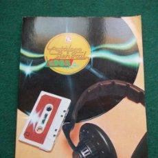 Música de colección: CATALOGO GENERAL ZAFIRO 1982. Lote 211258429